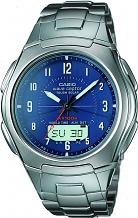Men's Casio Wave Ceptor Alarm Chronograph Radio Controlled