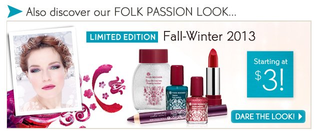 Also discover our FOLK PASSION LOOK...