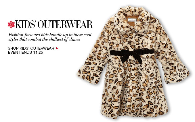 Shop Kids' Outerwear