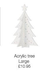 Large acrylic tree