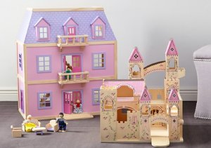 Dolls & Dollhouses by Melissa & Doug