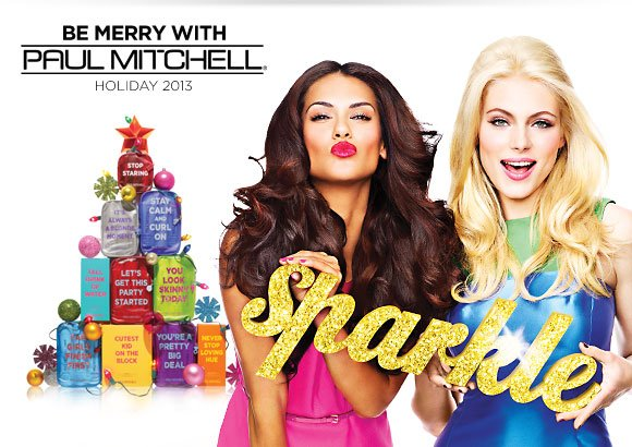 Paul Mitchell BE MERRY WITH PAUL MITCHELL Holiday 2013