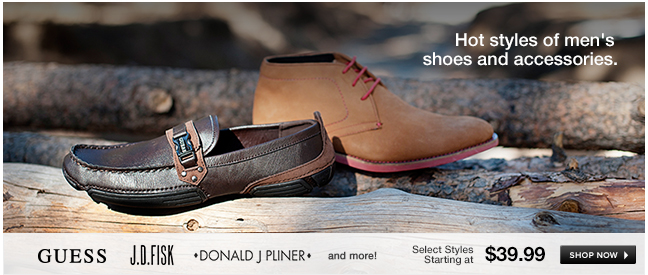 Hot styles of men's shoes and accessories