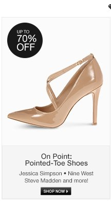 On Point: Pointed-Toe Shoes