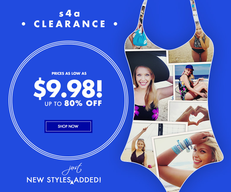 s4a Clearance - Prices as Low As $9.98! New Styles Just Added!