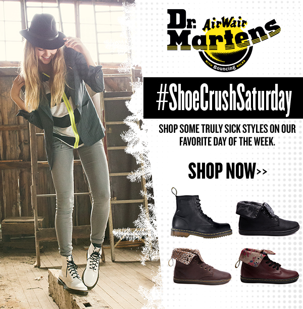 #ShoeCrushSaturday feat. Dr. Martens