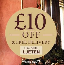 £10 off & free delivery - use offer code LJETEN