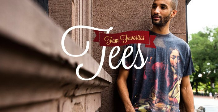 Check out the Fam Favorites: Tees on PLNDR.com