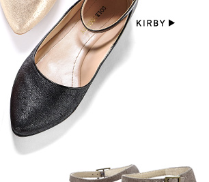 Pointed Toe Flats: Shop Kirby