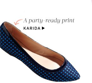 Pointed Toe Flats: Shop Karida