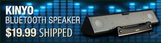 kinyo bluetooth speaker