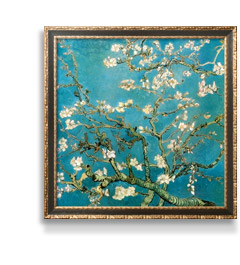 ALMOND BRANCHES IN BLOOM, SAN REMY, C.1890 By: Vincent van Gogh