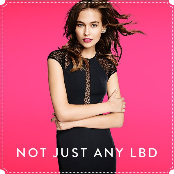 NOT JUST ANY LBD