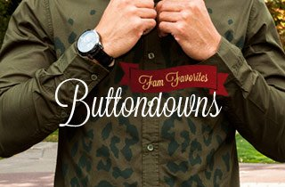Fam Favorites: Buttondowns
