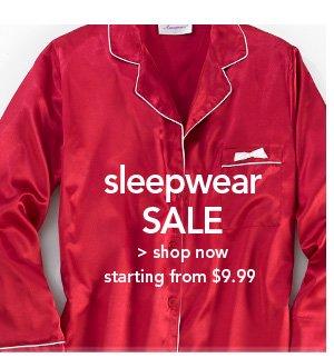 Shop Sleepwear Sale