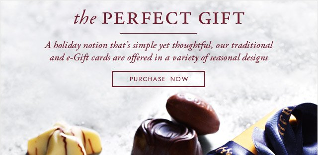THE PERFECT GIFT - PURCHASE NOW