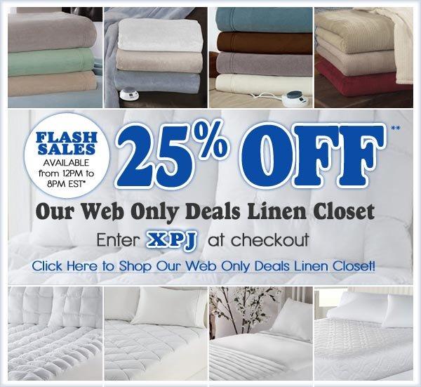 25% OFF** Linen CLoset