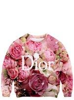 """Rose D"" Sweatshirt"