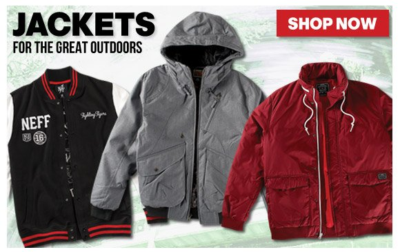 Jackets for the Great Outdoors