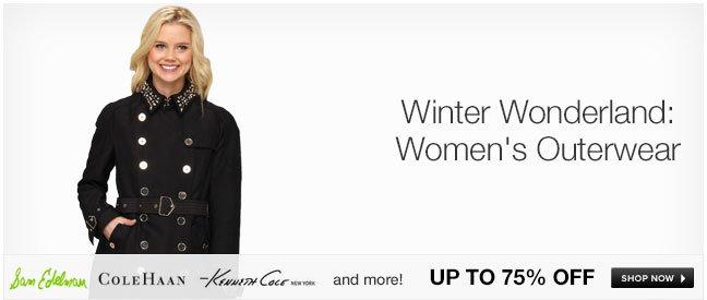 Winter Wonderland: Women's Outerwear