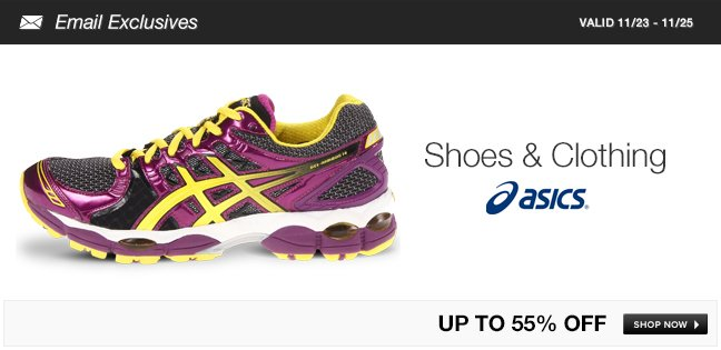 ASICS Shoes and Clothing