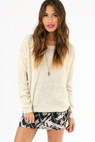Waffle Knit Sweater 39