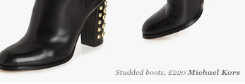 Studded boots, Michael Kors
