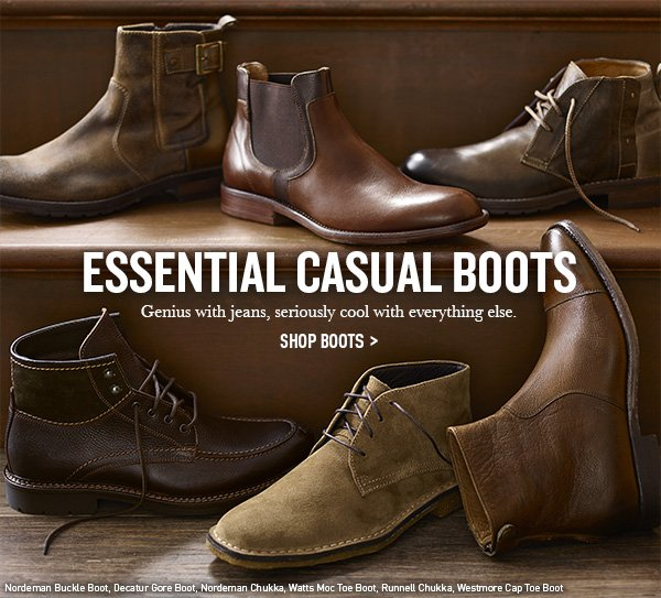 Essential Casual Boots