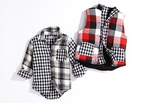 Mad About Plaid: Boys' Styles