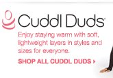 Enjoy staying warm with soft, lightweight layers in styles and sizes for everyone. shop all cuddl duds