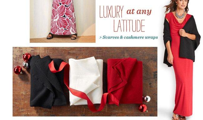 Scarves & cashmere wraps