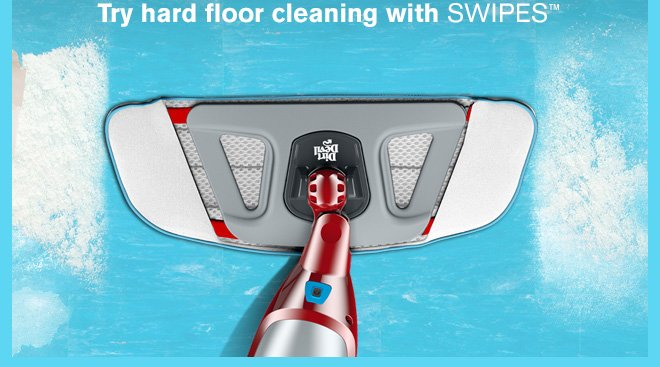 Try hard floor cleaning with SWIPES