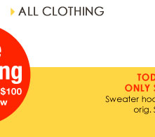 SHOP All Clothing!