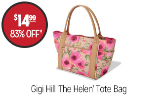 Gigi Hill 'The Helen' Tote Bag - $14.99 - 83% off‡