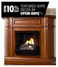 Extra 10% off Featured Home Decor by Upton Home**