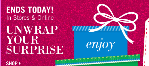 Enjoy up to 40% off your entire purchase**