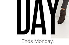 2-Day Doorbusters Ends Monday. SHOP ALL