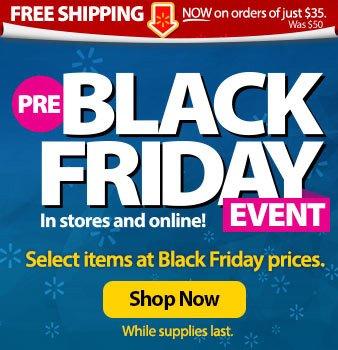 Pre-Black Friday Event - Shop Now