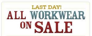 All Work Wear on Sale