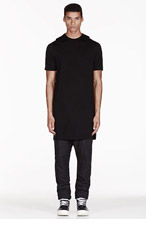 RICK OWENS Black LEVEL T t-shirt for men
