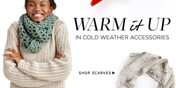 Warm it Up: Shop Scarves