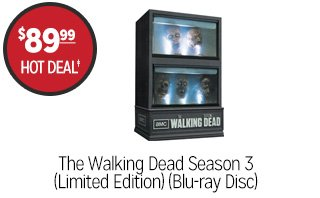 The Walking Dead Season 3 (Limited Edition) (Blu-ray Disc) - $89.99 - HOT DEAL†