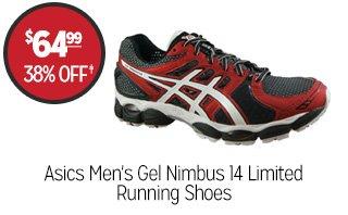 Asics Men's Gel Nimbus 14 Limited Running Shoes  - $64.99 - 38% off‡