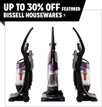 Up to 30% off Featured Bissell Housewares