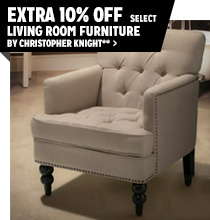 Extra 10% off Featured Living Room Furniture by Christopher Knight**