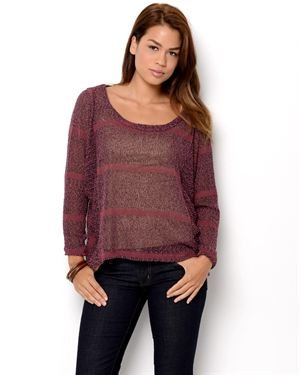 Jella Couture Long Sleeve Sweater- Made in USA