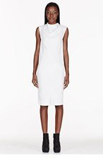 RICK OWENS White Runway Bonnie Tunic for women