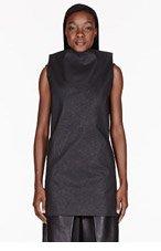 GARETH PUGH Black Light Wax Dress for women