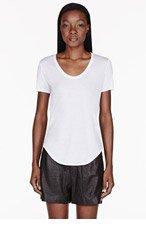 HELMUT HELMUT LANG White Kinetic Jersey T-shirt for women