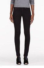 RAG & BONE Black Mid-Rise The Legging jeans for women